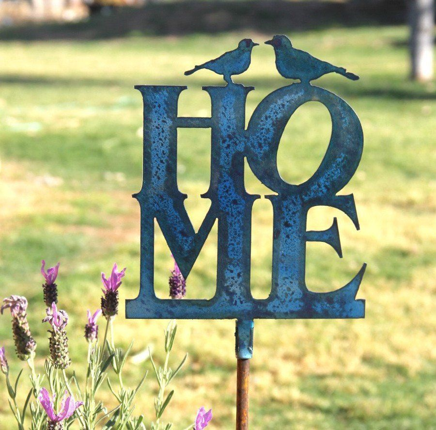 Frontyard Home Decor: Welcome Decorations for Home: Home Yard Stakes ...