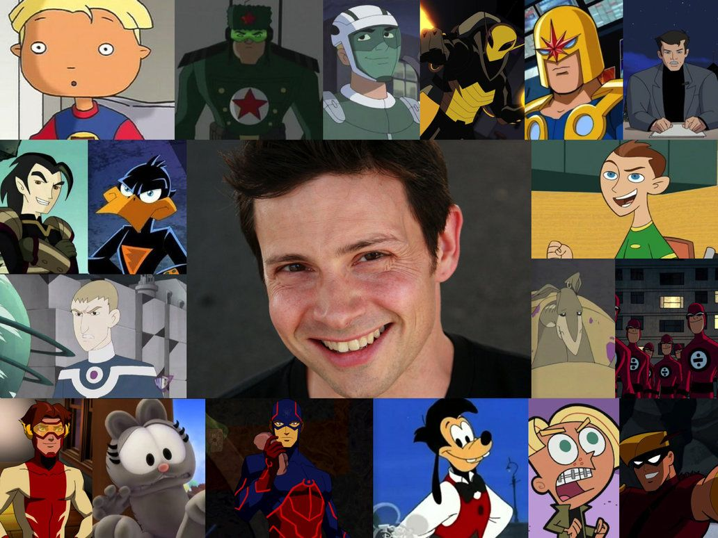 Cartoon Characters Voice Actors : Jason marsden a amazing voice actor who has voiced some of