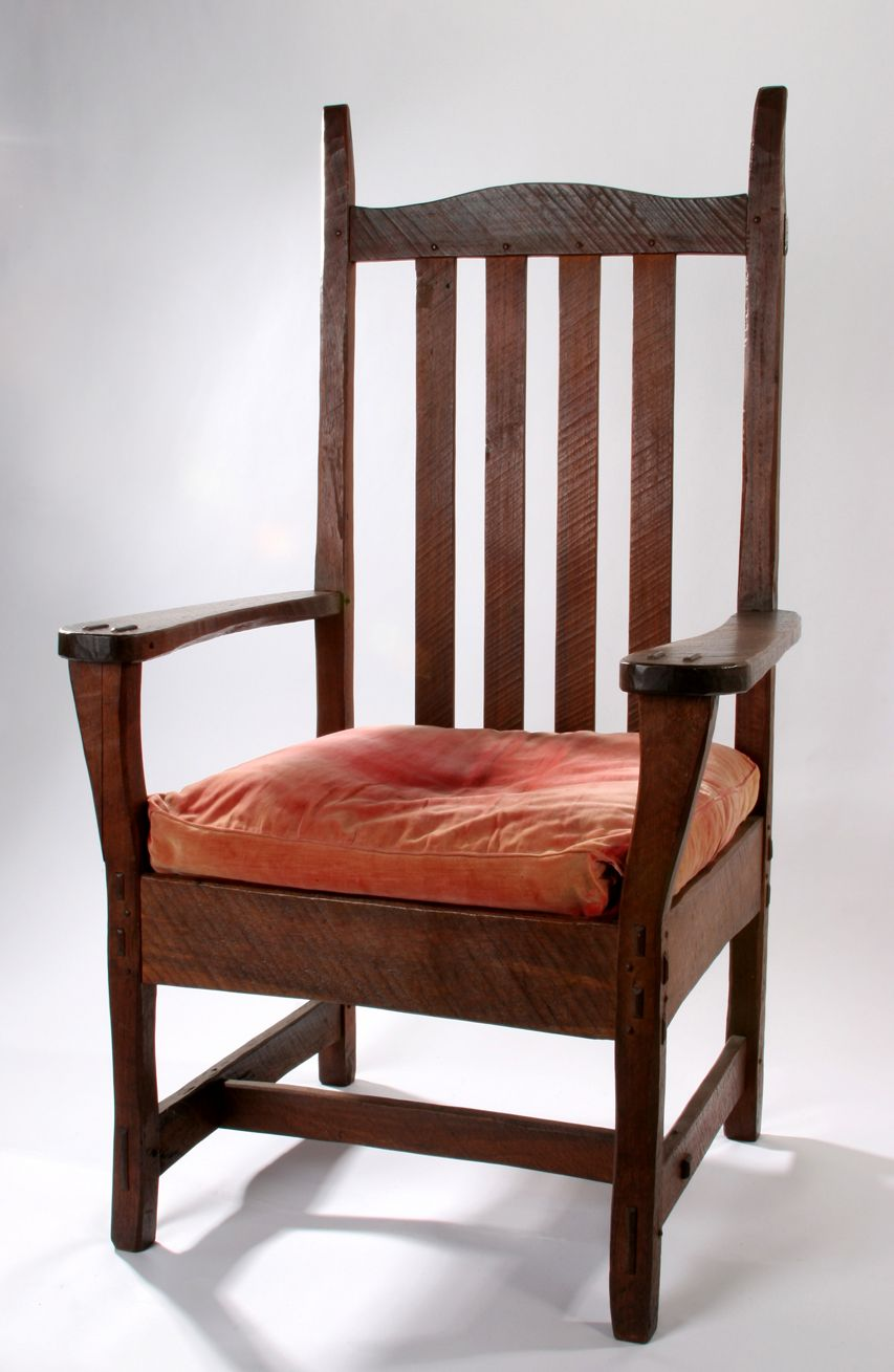 Chair Designed And Made By James Walter Chapman Taylor Circa 1910