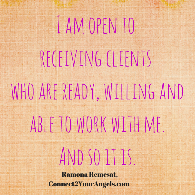 I am open to receiving clients who are ready, willing and able to work with me. #virtualassistantservices #outsourcingservices