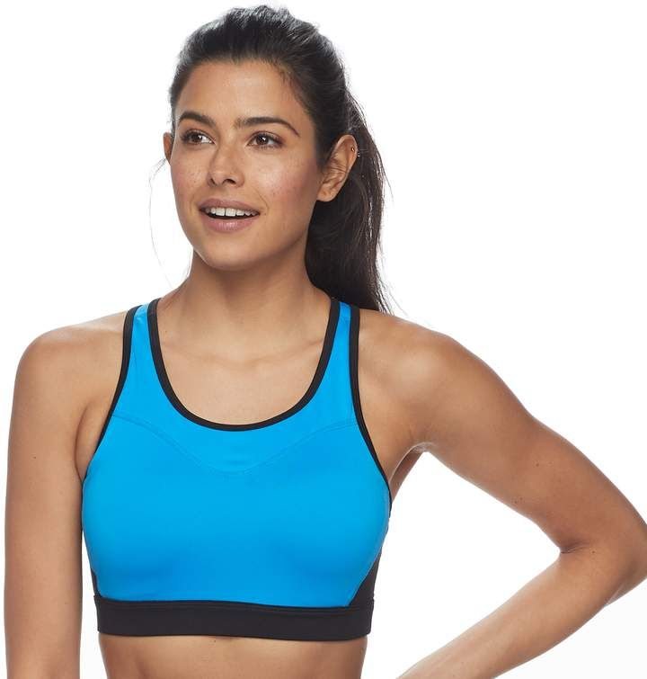 9f56a08e03 Tek Gear® Racerback Medium-Impact Sports Bra in 2018