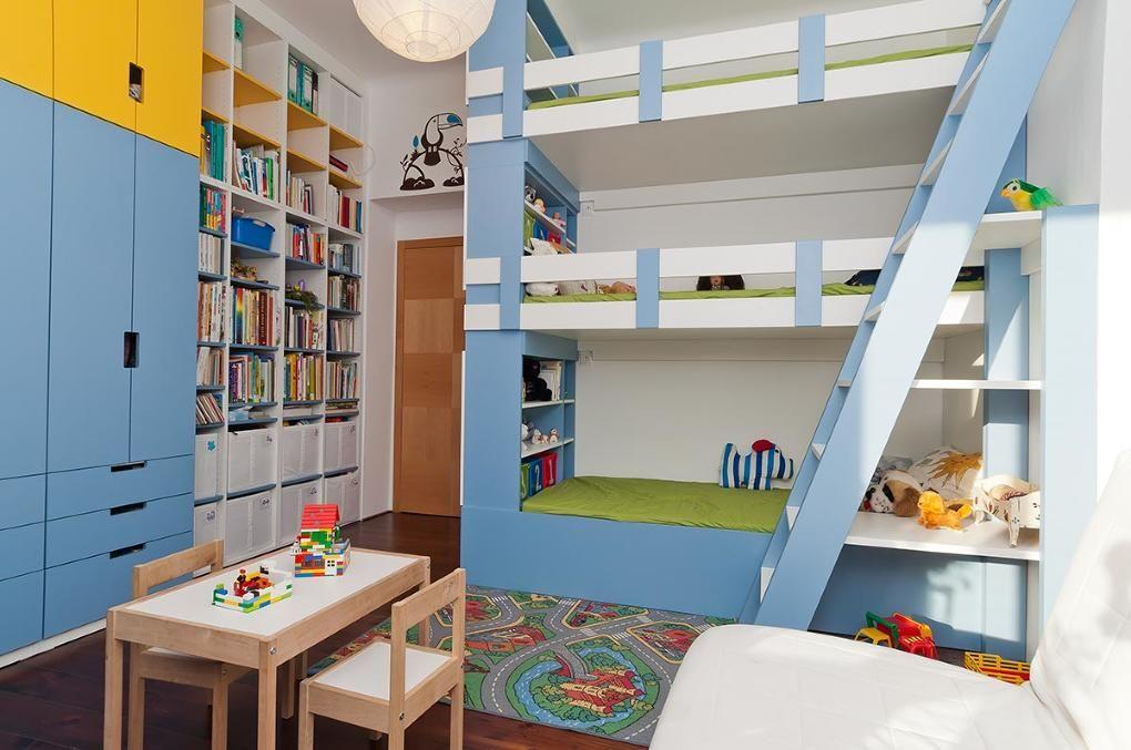 Projekt Zařízení interiéru dětského pokoje od Ing. arch. Tibor Csukás