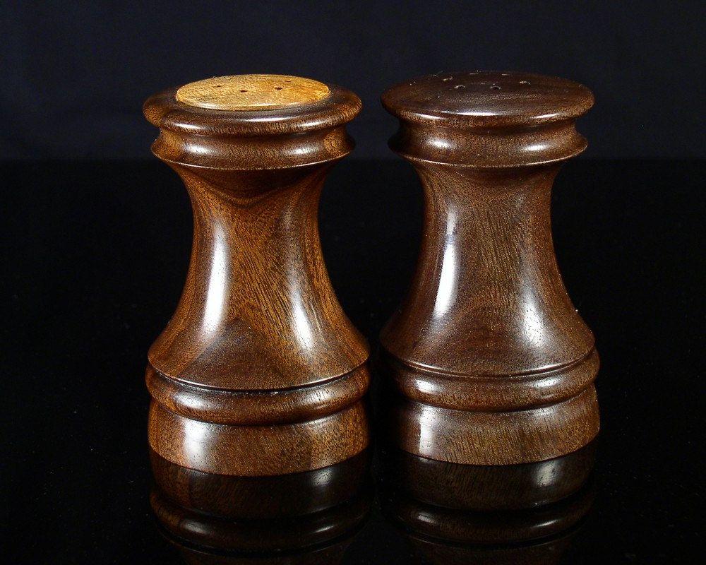Wood Turned Salt Pepper Shaker Set By Bradsearswoodturner 75 00
