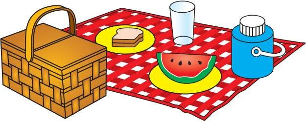 Summer picnic outdoors clip art free vector in open office ...