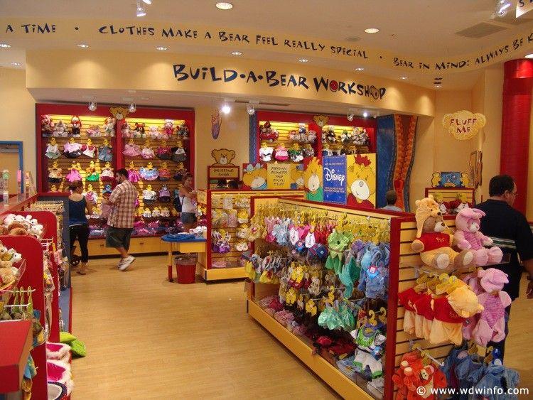 Build A Bear Florida Mall Map