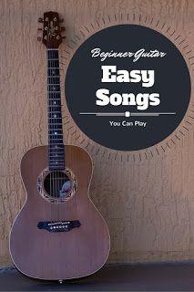 Easy Beginner Songs To Play On Acoustic Guitar Acoustic Song Learn Acoustic Guitar Playing Guitar
