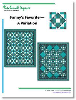 Fanny's Favorite - A Variation