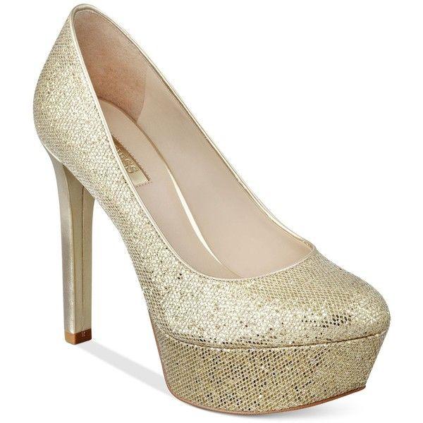 Womens Shoes GUESS Etten Silver Glitter