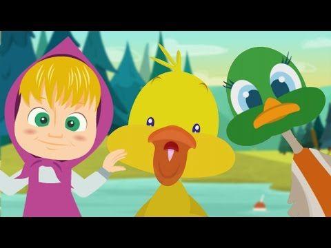 Il Ballo Del Qua Qua Con Masha Orso Ed Elsa Baby Dance Compilation