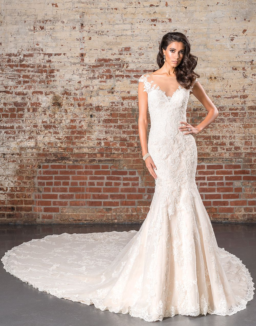 Justin Alexander signature wedding dresses style 9845 | Wedding ...