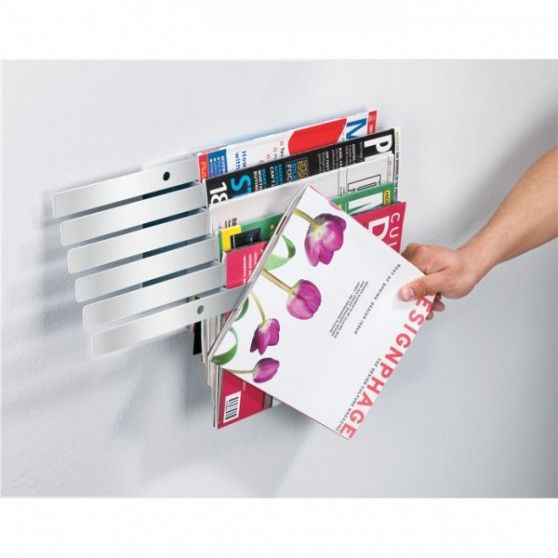 Range-magazines mural Illuzine   Idées salon   Pinterest   Ranges ...