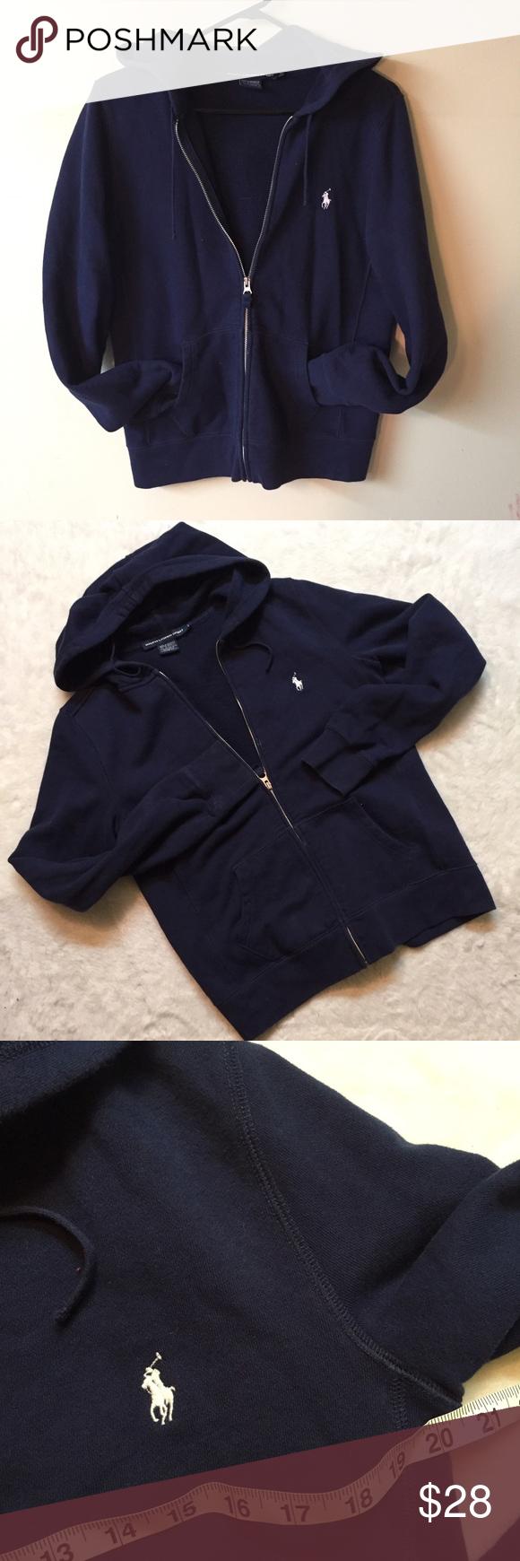 Polo Ralph Lauren sport large hooded sweatshirt Good condition!! Super comfy!! Polo by Ralph Lauren Tops Sweatshirts & Hoodies