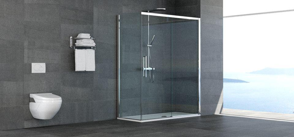 Porte per Nicchia Grandi Misure Doccia, Cabina doccia