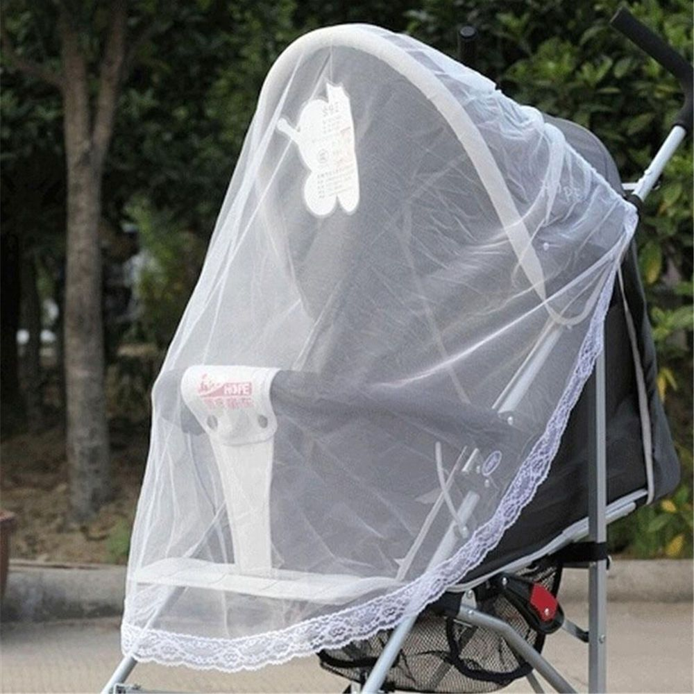Baby Buggy Pram Mosquito Cover Net Pushchair Stroller Fly Insect Protector 8C