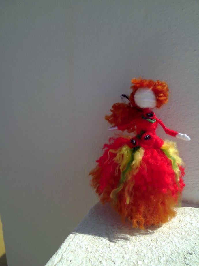 muchacha de la muñeca de amapolas by olga, $17.00 USD