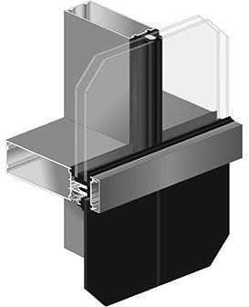 1620 Ssg Curtain Wall System Structural Silicone Glazed