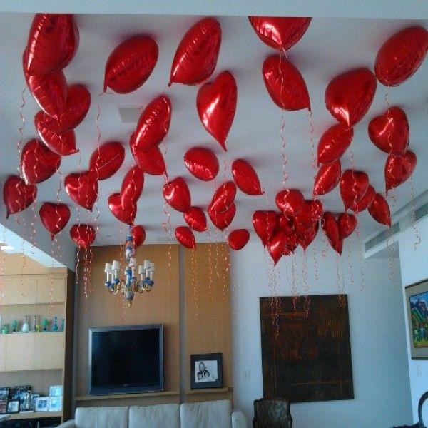 decoração dia dos namorados com balões  Pesquisa Google  DIA DOS NAMORADOS