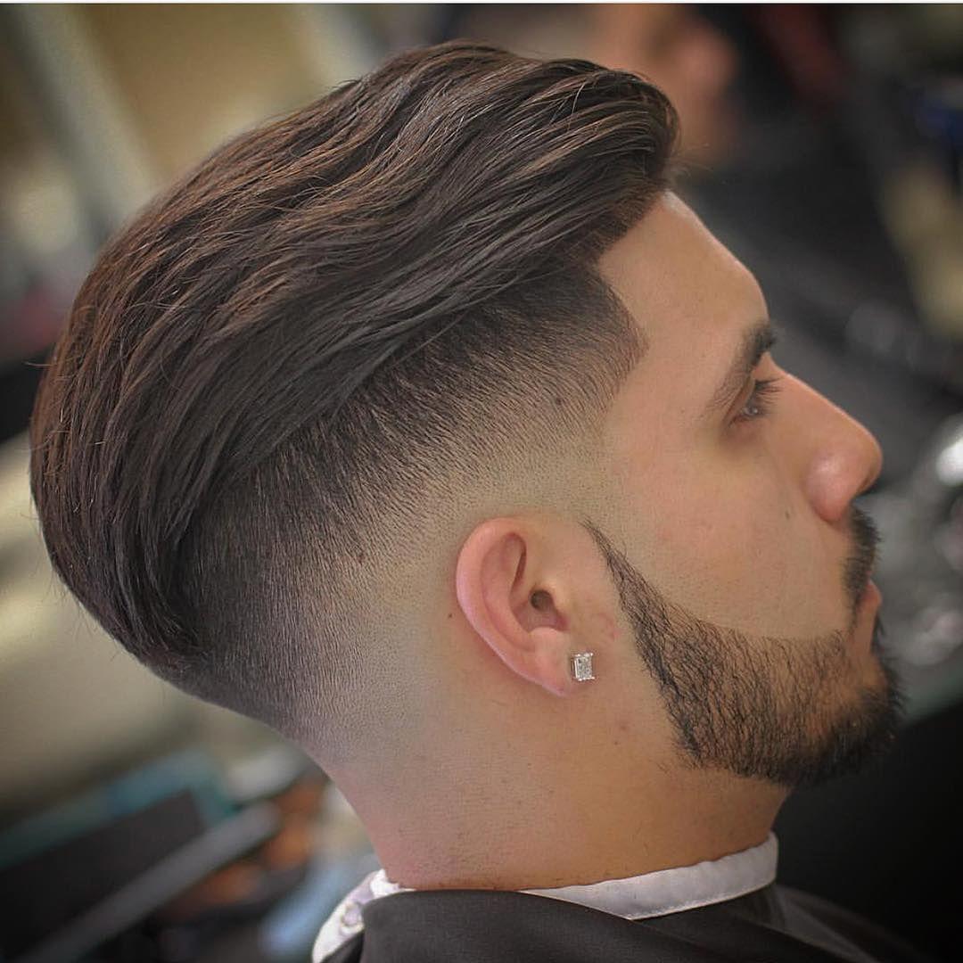 Undercut Low Skin Fade Men S Haircuts Slicked Back Hair Fade Haircut Classic Hairstyles