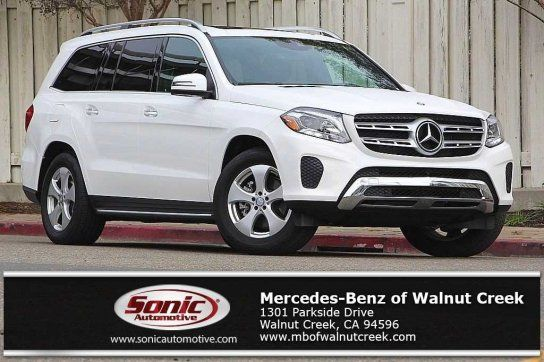 Sport Utility, 2017 Mercedes Benz GLS 450 4MATIC With 4 Door In Walnut Creek