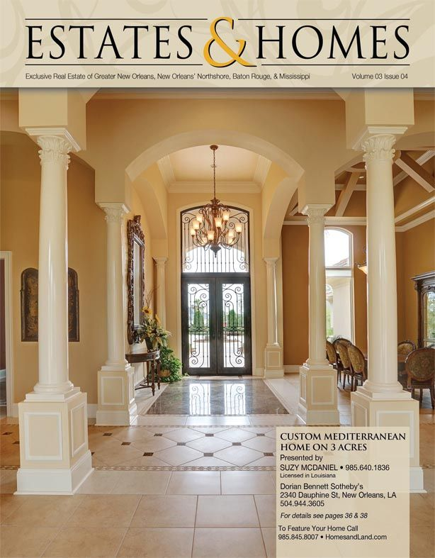Check out the gorgeous cover of our Estates & Homes Magazine ...