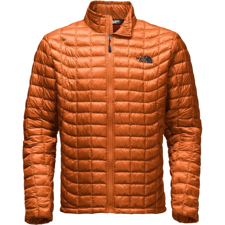 The North Face Thermoball Insulated Jacket Men S Gingerbread Brown North Face Mens Zip Jackets Mens Jackets [ 900 x 900 Pixel ]