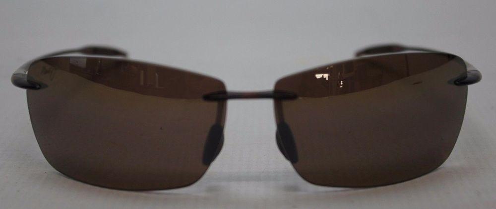 6727b4d6ccb4 Maui Jim Sport Lighthouse MJ 423-26 Sunglasses Rootbeer Polarized HCL Bronze   MauiJim  Rimless