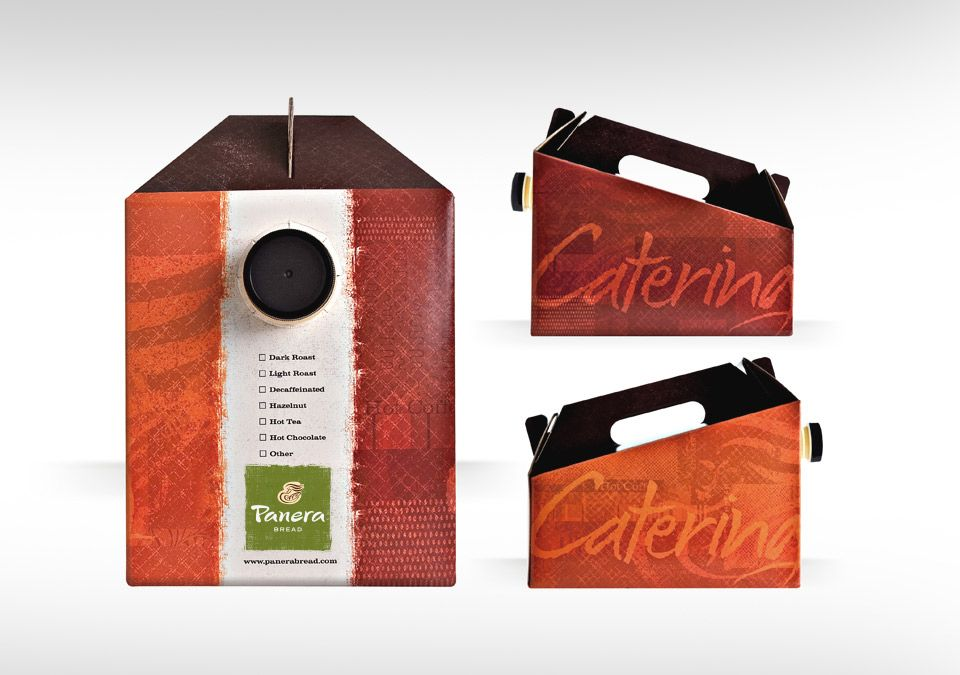 Panera Bread Coffee Box Entrancing Mitre Agency  Panera Bread  Holiday Bags  Mitre Packaging Review