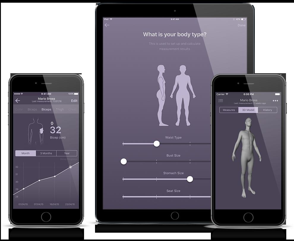 body measurement tracking