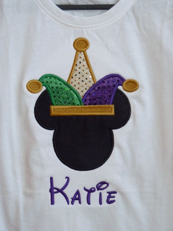 Disney Mickey Themed Custom shirt Monogrammed by StitchofFreedom