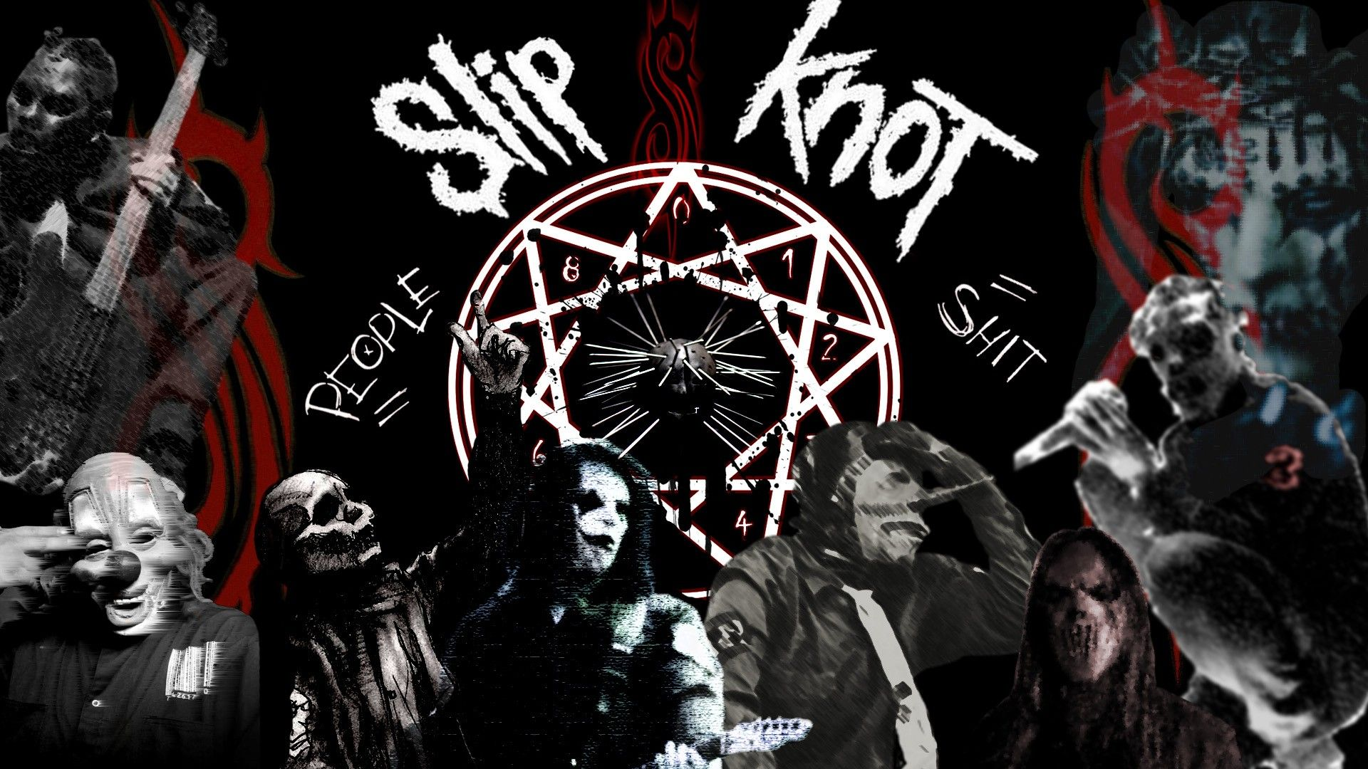 Best Of Slipknot Screensavers Free Slipknot, Heavy metal