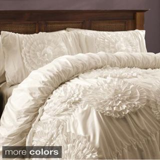 The ivory is beautiful if not practical and the grey would go