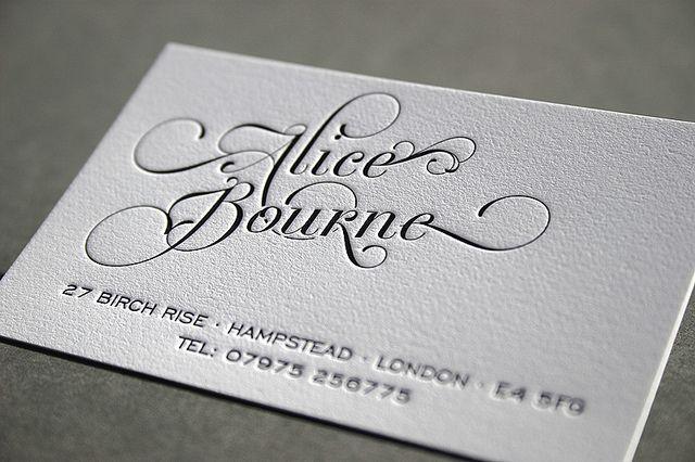 59 Letterpress Business Cards Letterpress Business Cards Business Cards Creative Beautiful Business Card