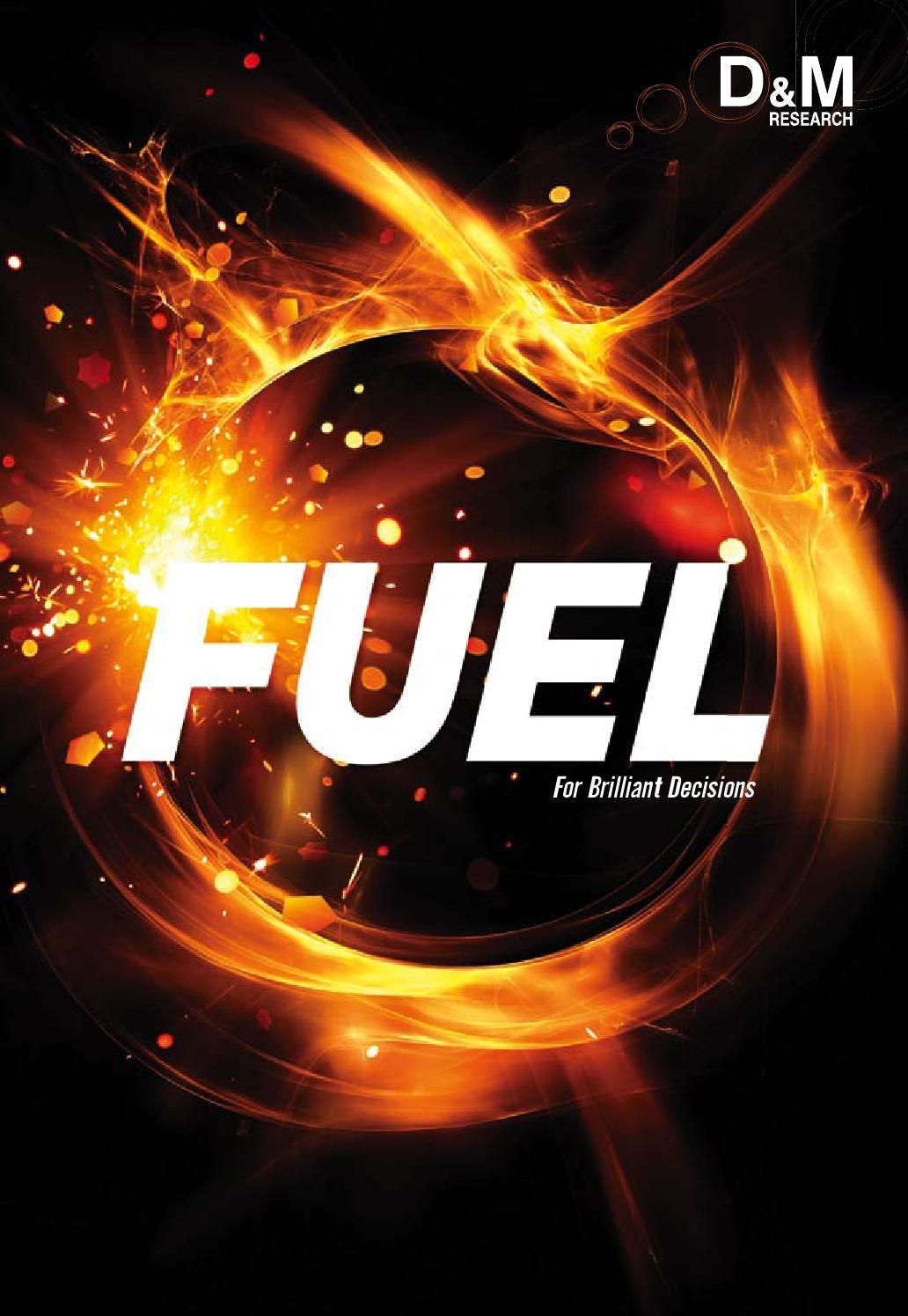 Fuel Magazine 2013  We thought it was about time our friends got to know more about the agency they've been trusting for so many years.   And so we are proud to launch 'Fuel', a magazine dedicated to D&M's take on the world of Marketing and Social Research - profiling our work, clients, and team in addition to interesting  findings and news.Fuel gives real insight to our business, particularly our purpose, research philosophy, values and culture – a lot of which relates to ourbest asset –…