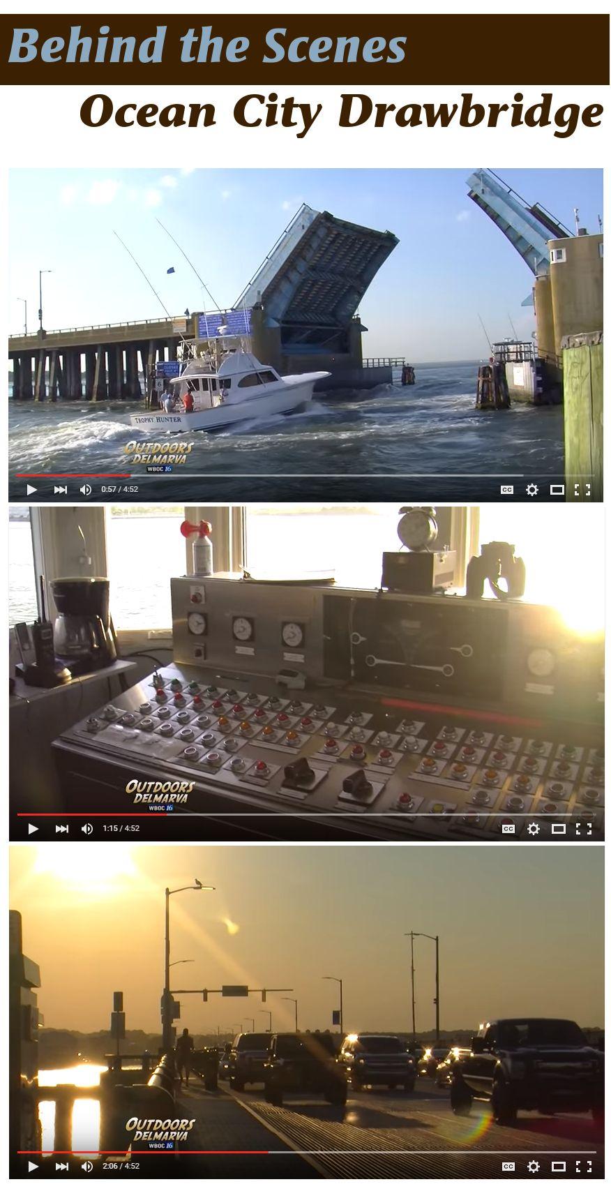 We loved seeing the Ocean City Drawbridge behind the scenes during