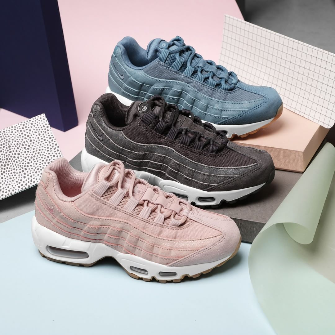"Supplying Girls With Sneakers on Instagram: ""AIR MAX 95 LOVE! The Air Max  95 gets a cool rework in this premium edition. Inspired by the human body,  ..."