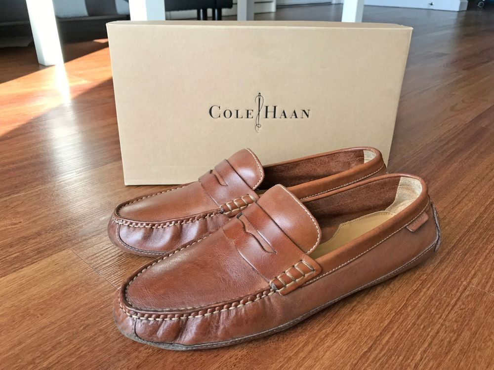 b341928a266 COLE HAAN - Grant Canoe Penny Loafer - Driving Moccasin Shoe - Men s US  Size 9.5  fashion  clothing  shoes  accessories  mensshoes  casualshoes  (ebay link)