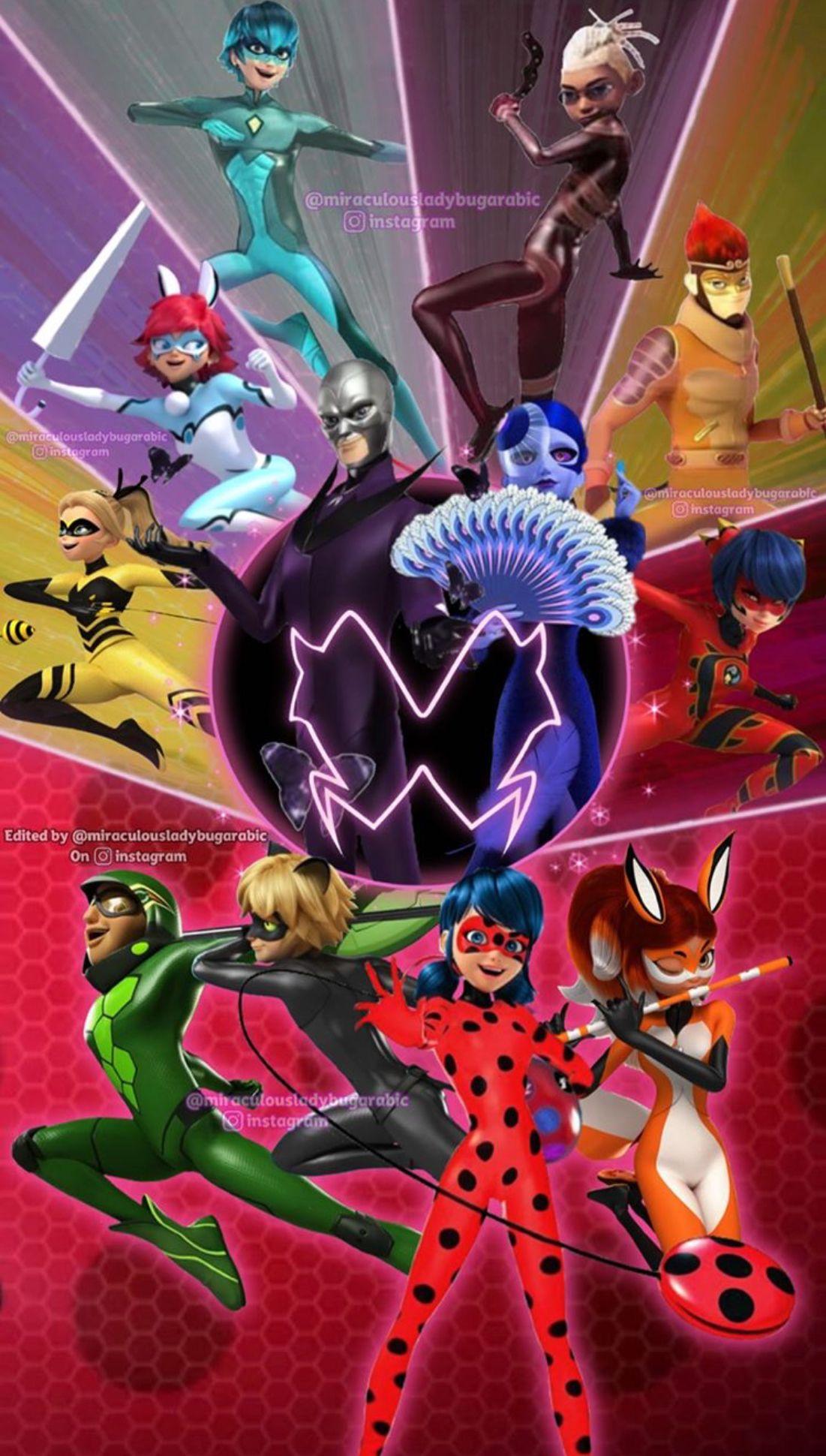 Pin De Pame Chavez En Miraculous Tales Of Ladybug And Cat Noir Fondos De Ladybug Capitulos De Ladybug Imagenes De Miraculous Ladybug