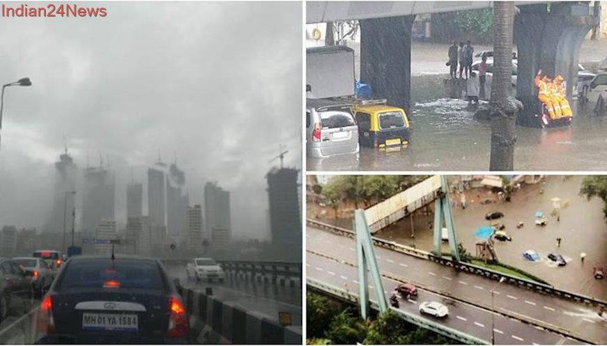 Mumbai rains: Celebrities ask fans to stay at home and be safe. See photos, videos