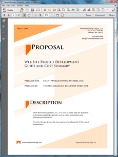 Multilingual Web Site And Dvd Sample Proposal  Create Your Own