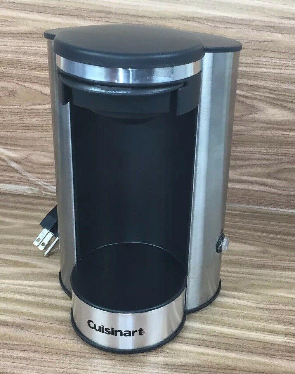 Cuisinart W1cm5s 1 Cup Stainless Steel Brewer 40072009952 Ebay In 2020 Single Coffee Maker Cuisinart Single Cup Coffee Maker