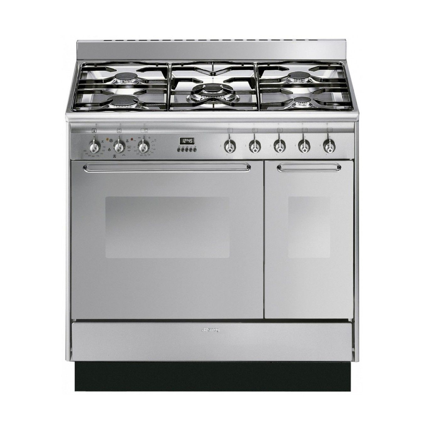 Cucina 90 Stainless Steel Dual Fuel Range Cooker