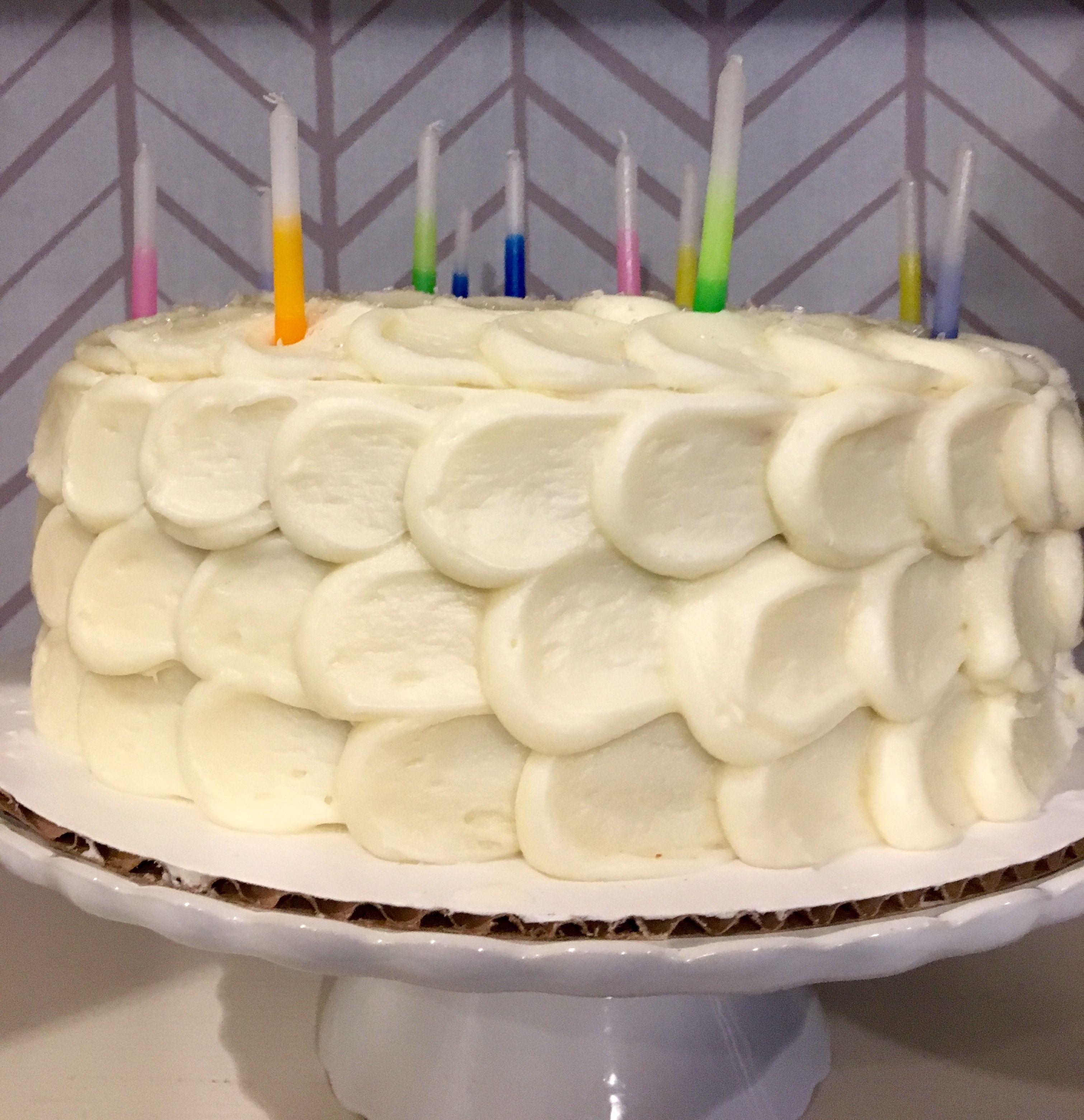 Pulled dot cake