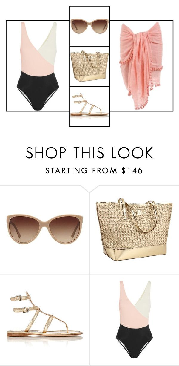 """Outfit # 3388"" by miriam83 ❤ liked on Polyvore featuring Giorgio Armani, Kate Spade, Prada and Solid & Striped"