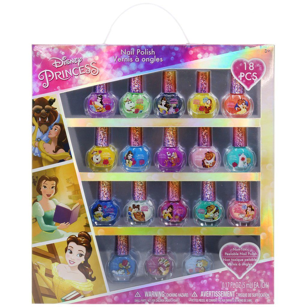 Disney Princess' Belle 18 Pack Nail Polish Collection | Art