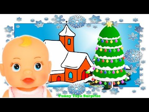 Once in Royal David-s City, Christmas Carol Music and Lyrics Song Cartoon Animation Nursery ...