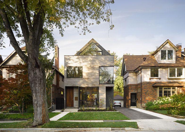 Canadian Studio Drew Mandel Architects Designed This New Toronto House To  Sit Sensitively Among Its 1920s