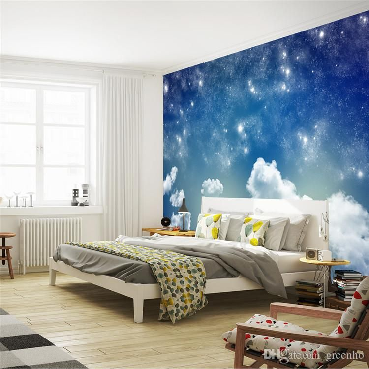 Mobile Home Bedroom Decorating Ideas Anime Themed Bedroom Bedroom Colors Bedroom Ceiling Design Wall Ceiling Bedroom: Beautiful Starry Sky Wallpaper Galaxy Photo Wallpaper