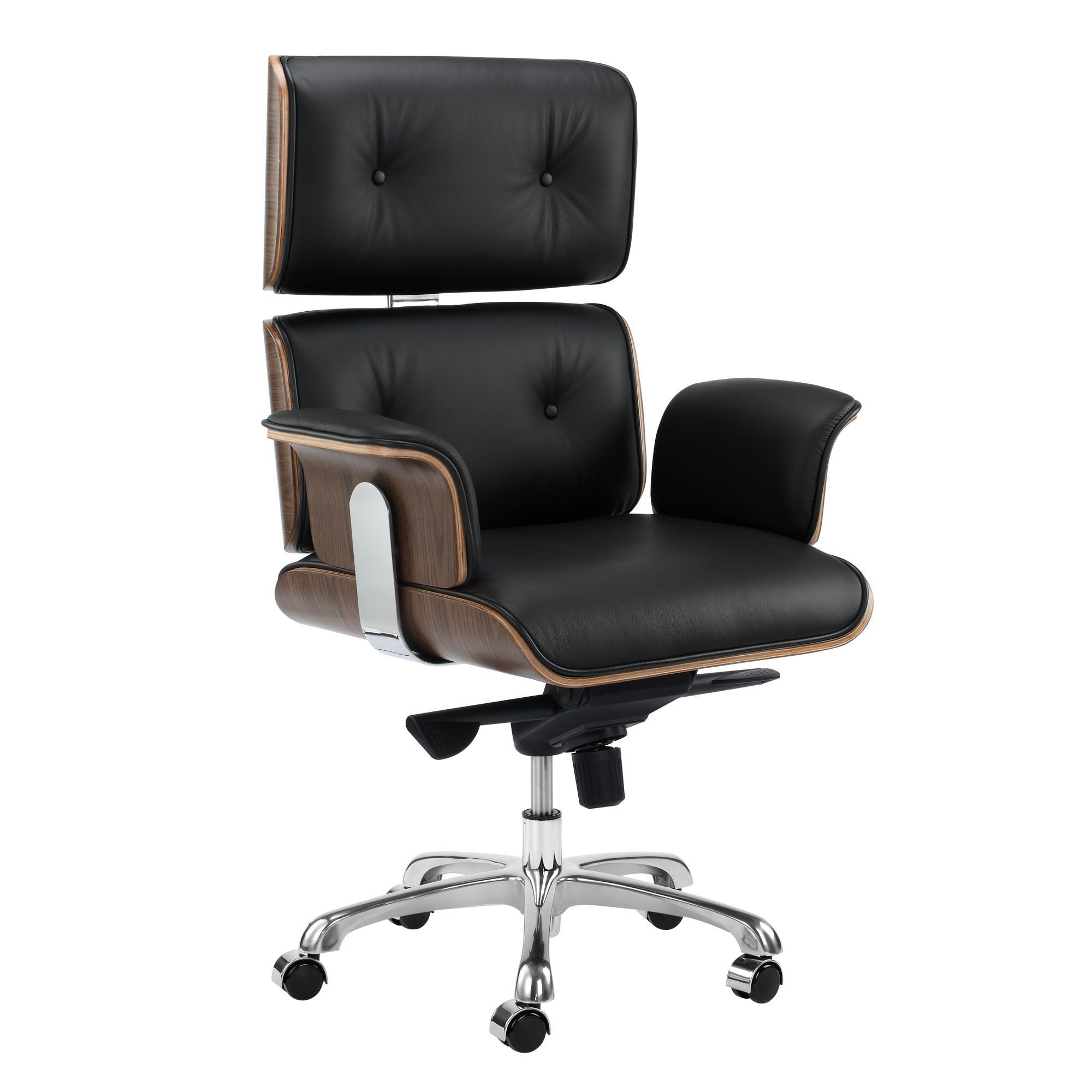 leather accent chair Eames Premium Leather Replica