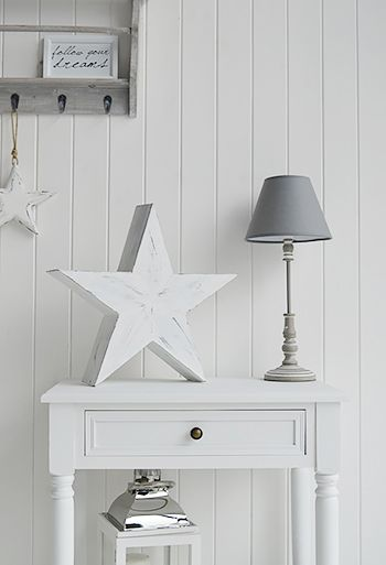 Shabby Chis Home Accessories A White Star From The White Lighthouse