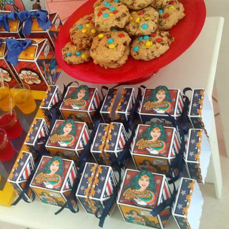 Wonder Woman Party - Festa Mulher Maravilha